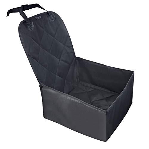 Floxik Hunde Autositz - Premium Hunde Autositzbezug für jedes Auto - Hundesitz Vordersitz Hund wasserdicht waschbar reißfest