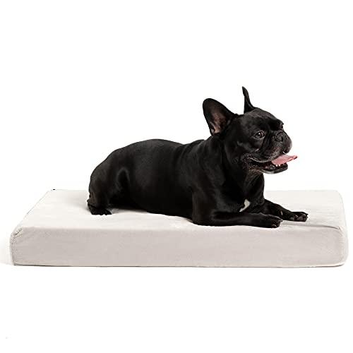 ZENAPOKI Dog Bed - S - Orthopädisches Kissen für Hunde, gut die Gelenke - Hundebett flauschig aus Memory Schaum, Dog Bed Haustierbett Katzenbett Hundebett waschbar mit Thermogel