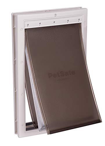 PetSafe Haustiertür für extreme klimatische Bedingungen, einfach zu installieren, isolierend, wetterfest, energieeffizient, Dreifacher Schutz gegen Kälte und Hitze System, Groß