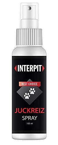 Interpit Juckreiz Spray für Haustiere, Naturprodukt & HOCHWIRKSAM bei Juckreiz oder Entzündungen - Pflegt Haut & Fell bei Läuse, Flöhe oder Milben, auch Grasmilben bei Katze & Hund