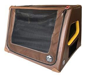 TAMI - Aufblasbares Hundebox XXL - Dog Box Hundetransportbox Hund Autotransportbox Transportbox Falbare Hundekäfig