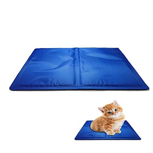 kühlmatte Katze,Hund kühlmatte,Pet Cooling Mat,Pet kühlmatte Bett,Ungiftiges Gel Kühlmatte Für Hunde und Katzen,Haustiere Matte zur Regulierung der Körpertemperatur (S(40*30cm))