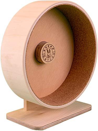 Ø 21 cm Getzoo Premium Korklaufrad (Ø 19,4 cm Innen, Höhe 22-30cm)