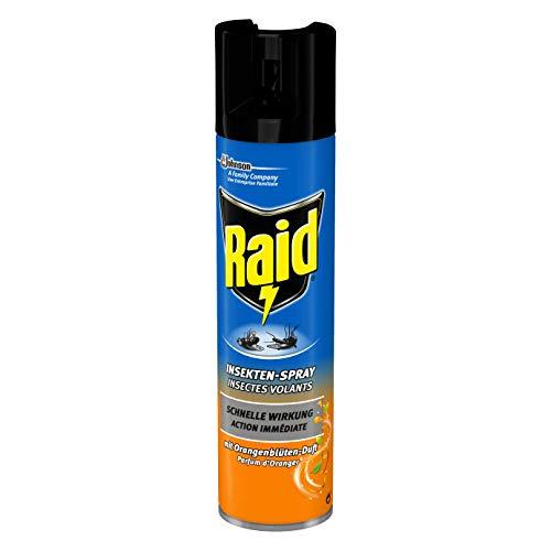 Raid Insekten-Spray mit Orangenblüten-Duft, 400 ml