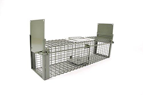 KrapTrap® Siebenschläferfalle und Rattenfalle – 60 x 17 x 17 cm Lebendfalle um Ratten, Siebenschläfer und vergleichbare Nager lebend zu fangen und Nicht zu verletzen oder zu töten