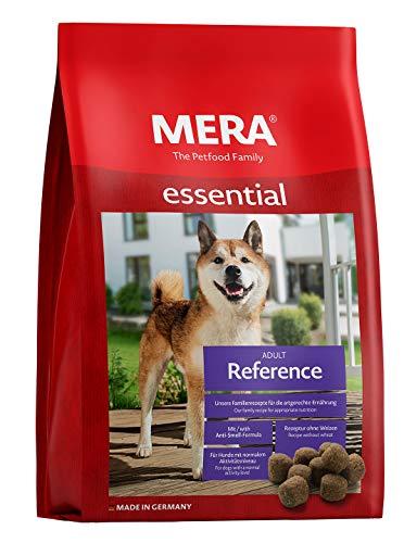 MERA essential Hundefutter  Reference  Für ausgewachsene Hunde mit normalem Aktivitätsniveau - Trockenfutter mit Geflügel - Ohne Weizen & Zucker (12,5 kg)
