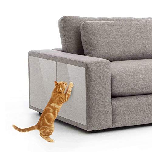 PetIsay XL Anti-Kratz-Möbelschutz (6 Stück), schützen Sie Ihre Möbel vor Krallen, Katzen Kratzschutz-Pad, Katzenschutz, Couchschutz, Türschutz