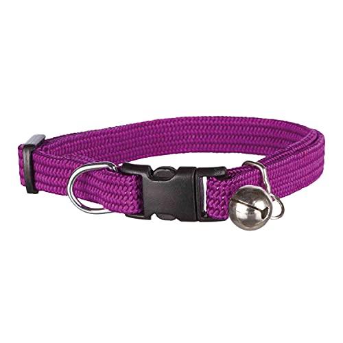 Trixie 4154 Katzenhalsband, elastisch, Nylon, Sortierte Farbe