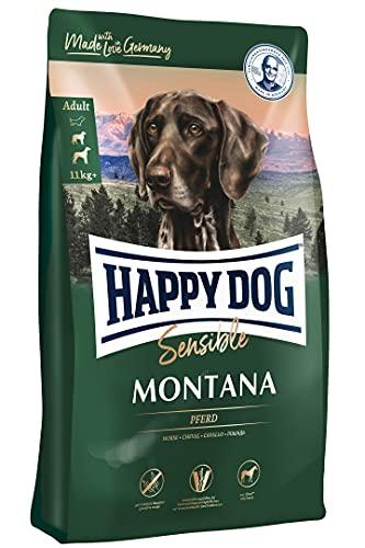 Happy Dog 60485 - Supreme Sensible Montana Pferd - Hunde-Trockenfutter für ausgewachsene Hunde - 10 kg Inhalt