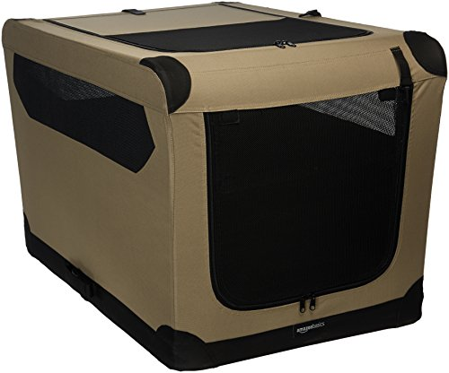 Amazon Basics - Hundekäfig, weich, faltbar, 91 cm