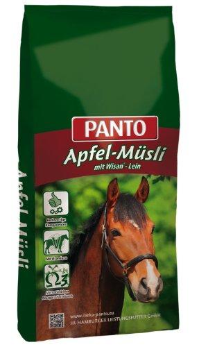 Panto Pferdefutter, Apfel-Müsli 20 kg, 1er Pack (1 x 20 kg)