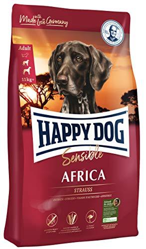 Happy Dog Supreme Sensible Africa, 12.5 Kg, 1er Pack (1 x 12.5 kg)