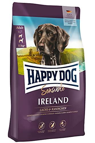 Happy Dog 03538 - Supreme Sensible Ireland Lachs und Kaninchen - Trockenfutter für ausgewachsene Hunde - 12,5 kg Inhalt