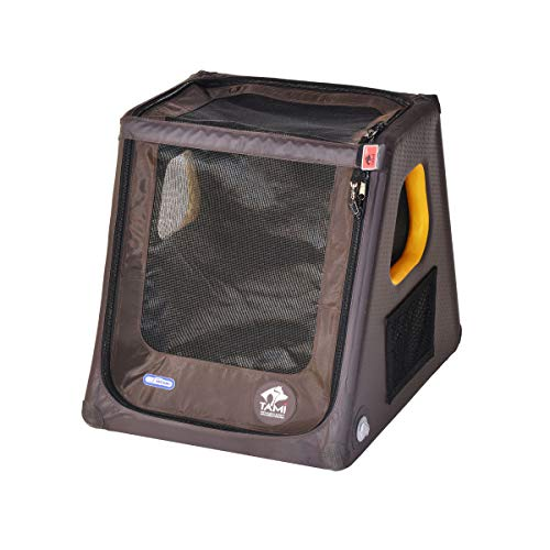 TAMI - Aufblasbares Hundebox S - Dog Box Hundetransportbox Hund Autotransportbox Transportbox Falbare Hundekäfig