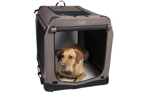 TrendPet Faltbare Hundebox TPX-Pro (TPX90-Pro 90x65x70cm)