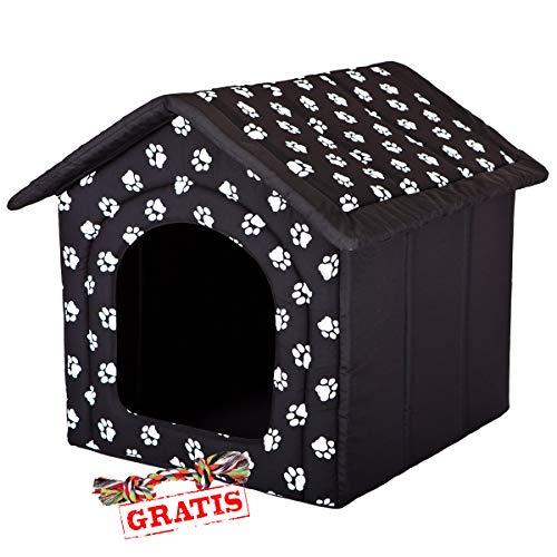 HobbyDog BUDCWL2 + Spieltau gratis Hundehöhle Katzenhöhle Hundebett Hundehaus Schlafplatz Hundekorb Hund Haus Hundehütte R1-R6 (R6 (76 x 72 cm))