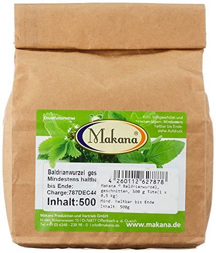 Makana Baldrianwurzel, geschnitten, 500 g Tüte (1 x 0,5 kg)