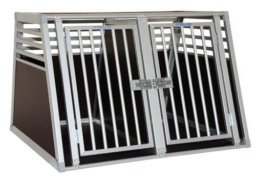 Schmidt-Box Hundebox Doppelbox ALU UMD 100/83/68 Gross