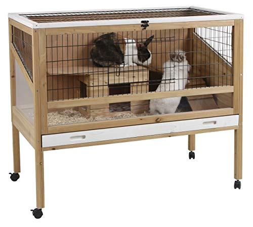 Kerbl 82725 Kleintierkäfig Indoor Deluxe, 115 x 60 x 92.5 cm