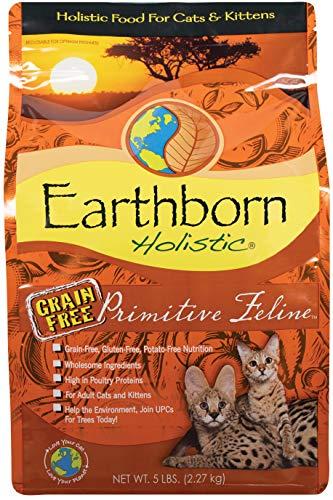 Earthborn Holistic Primitive Feline, Katzenfutter - 2,73 kg