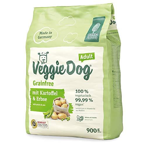 Green Petfood VeggieDog Grainfree | 4,5kg Hundefutter trocken