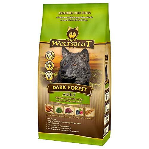 Wolfsblut - Dark Forest - 15 kg - Wild - Trockenfutter - Hundefutter - Getreidefrei