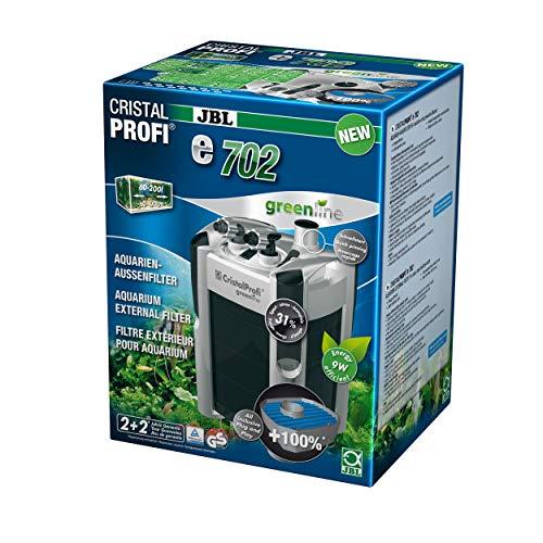 JBL Außenfilter für Aquarien von 60-200 Litern, CristalProfi e702 greenline