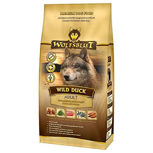 Wolfsblut - Wild Duck Adult - 15 kg - Ente - Trockenfutter - Hundefutter - Getreidefrei