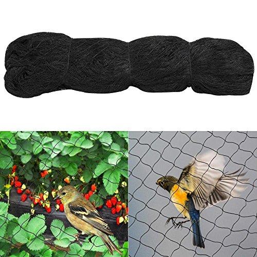 Yaheetech Vogelschutznetz Teichnetz Katzennetz Netz zum Schutz vor Vögeln,15x15m, Maschenweite 60mm